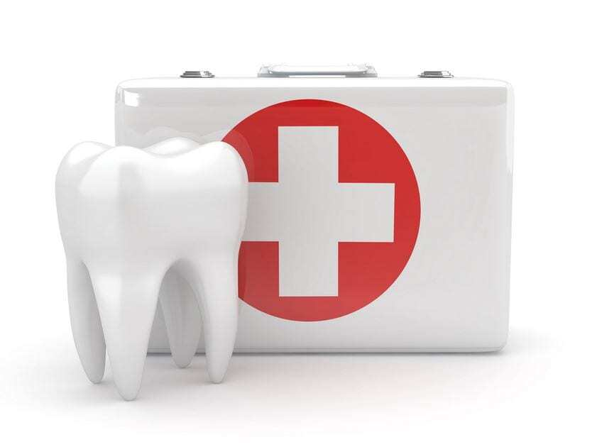 Emergency tooth service