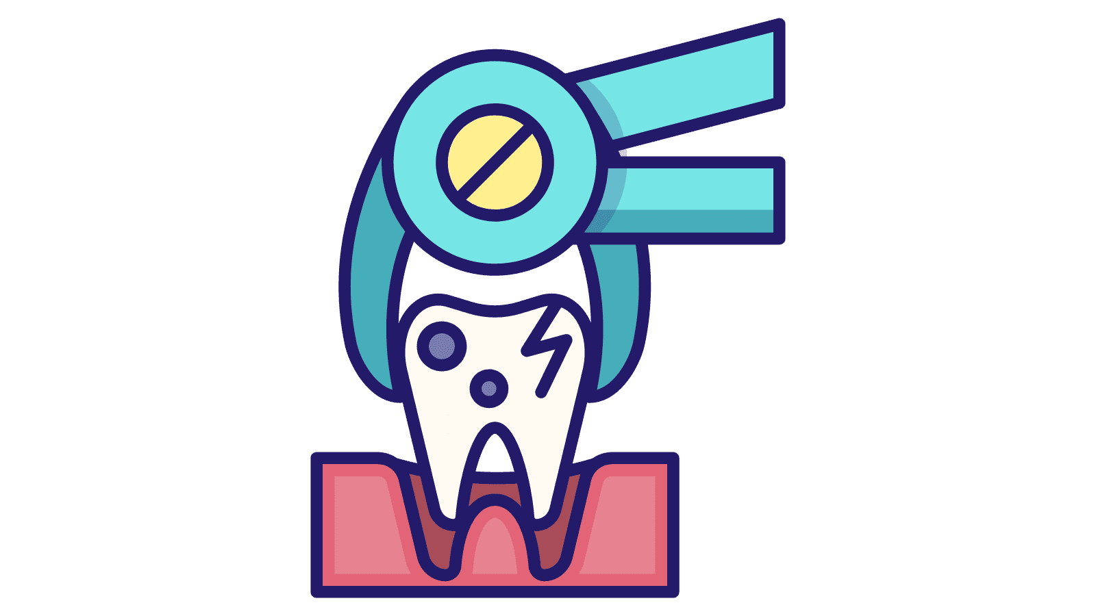 tooth extraction clipart
