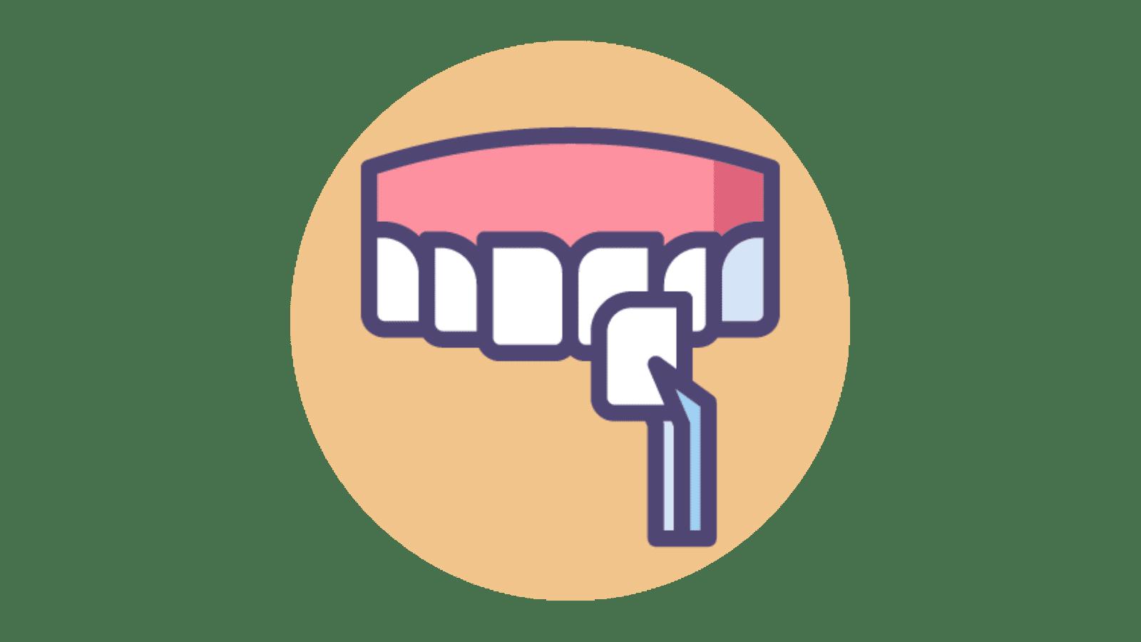 dental veneers clipart